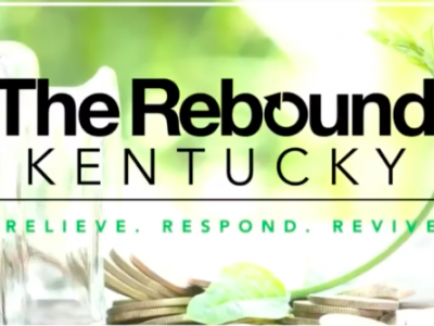 "Title Card for ""The Rebound Kentucky: Relieve, Respond, Revive"